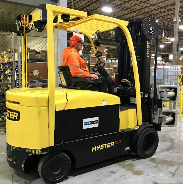 Hyster-Yale adds OneCharge Irvine, CA, United States - OneCharge
