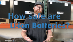 How safe are OneCharge Li-ion batteries?
