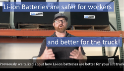 OneCharge Li-ion Batteries are Safer for Workers and Better for the Truck