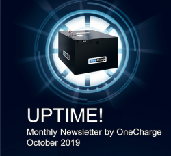 October 2019 UPTIME! Newsletter by OneCharge