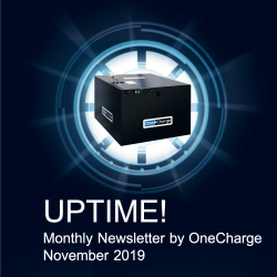 November 2019 UPTIME! Newsletter by OneCharge