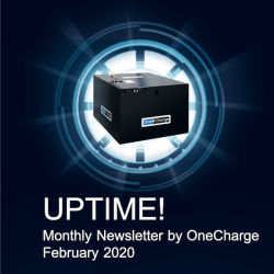 February 2020 UPTIME! Newsletter by OneCharge