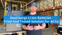 Li-ion Batteries for AGVs is a Tried-And-Tested Solution.