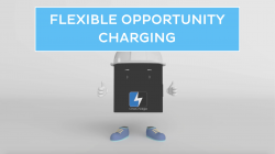 Charging Li-ion Battery For Forklifts